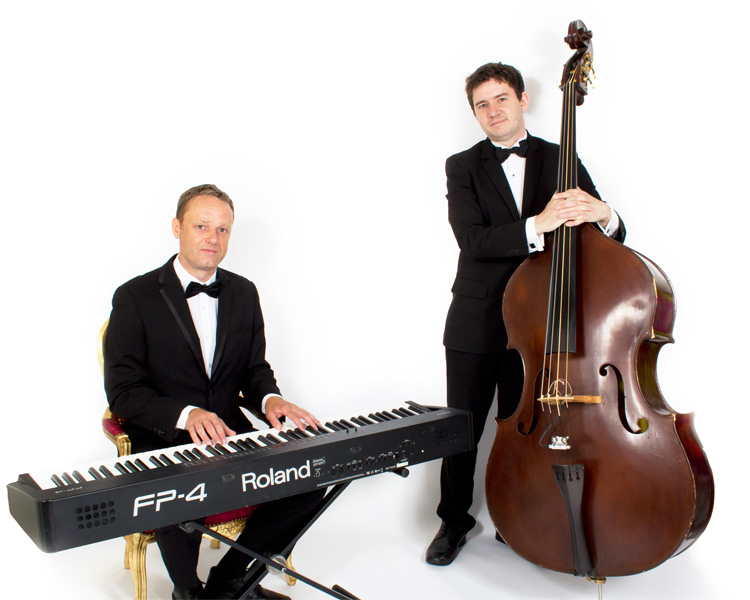 Champagne On Ice | Instrumental Jazz Duo East Yorkshire