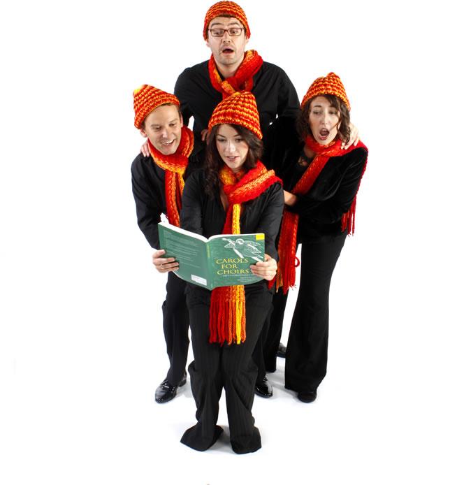 promo christmas carollers christmas carol singers london - Christmas Carollers