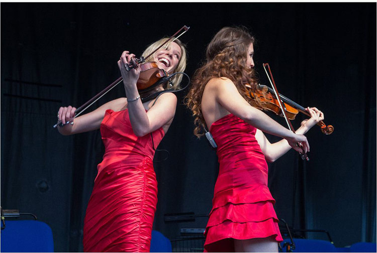 Electric | Electric Violin Duo London | Alive Network