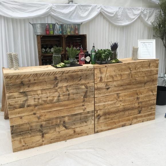The Rustic Wooden Bar Mobile Bar Derbyshire Alive Network
