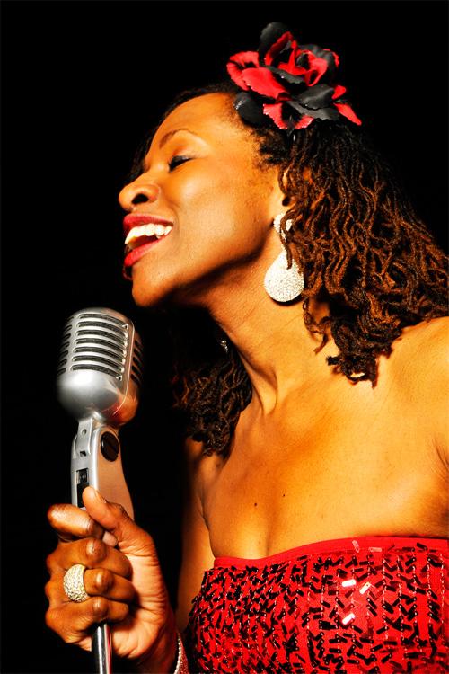 Lady Motown soul singer