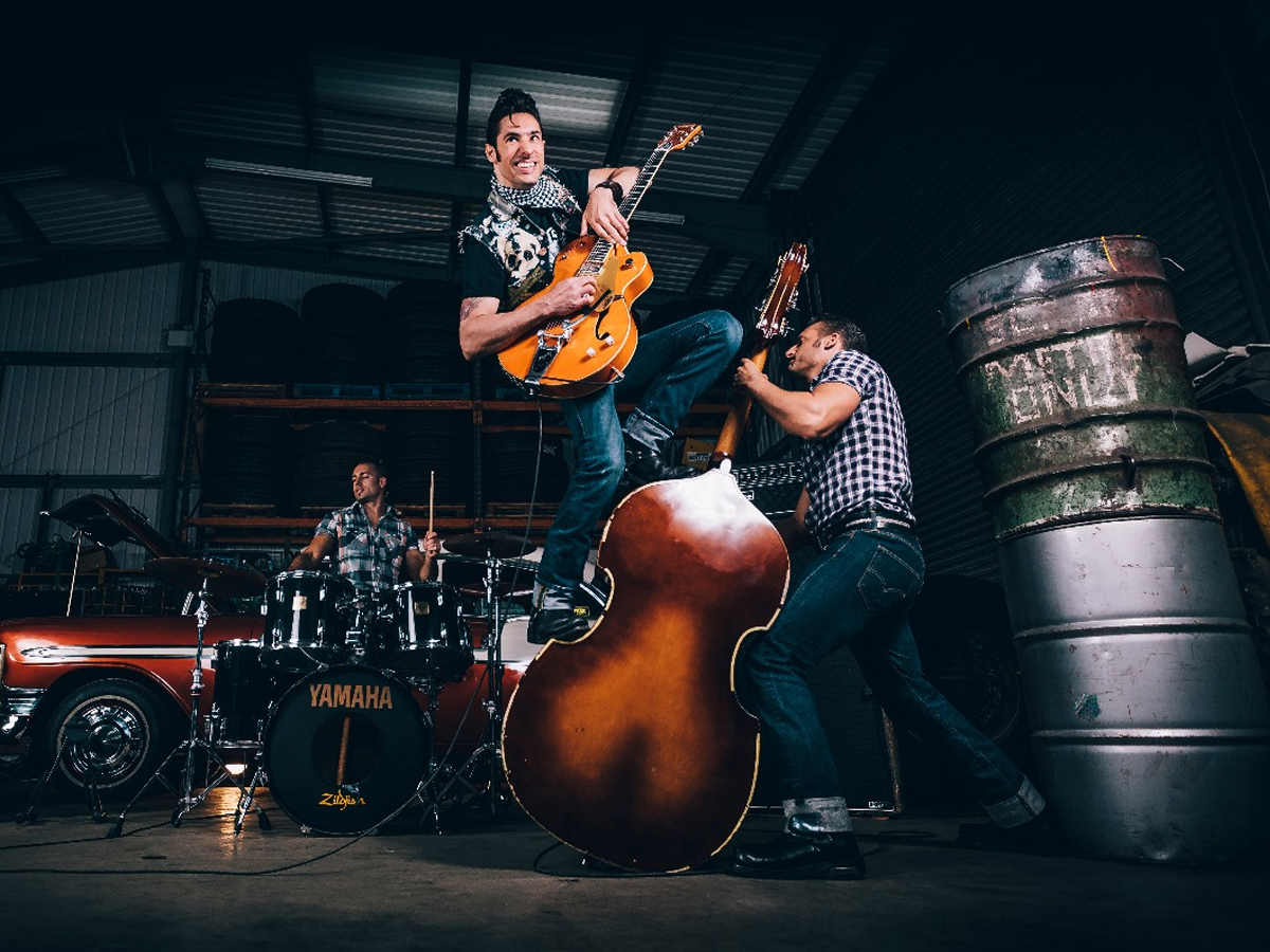 Rockabilly Riot Swing Jive Rock N Roll Band Leicestershire