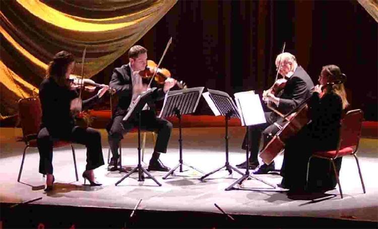 Status symbol string quartet wedding