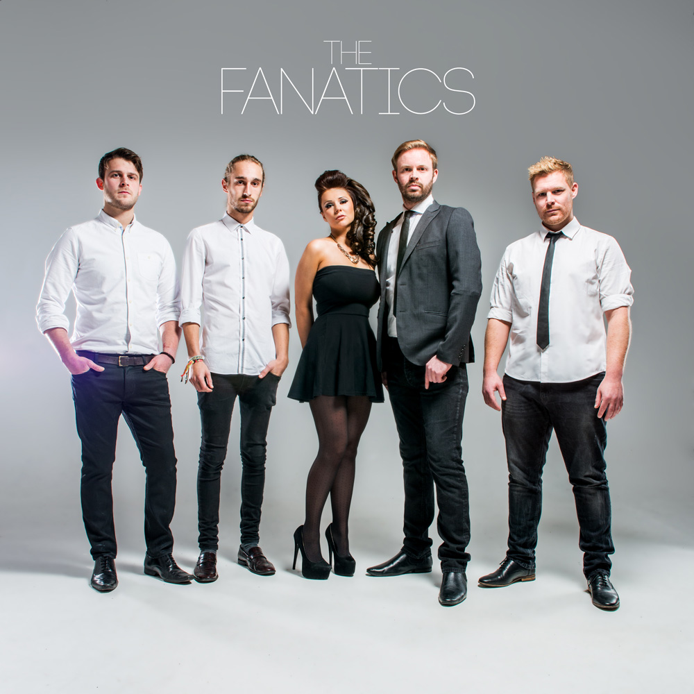 The Fanatics | Rock and Pop Function Band Staffordshire | Alive Network