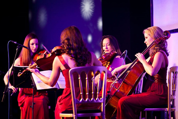 Promo Calithea String Quartet West Yorkshire