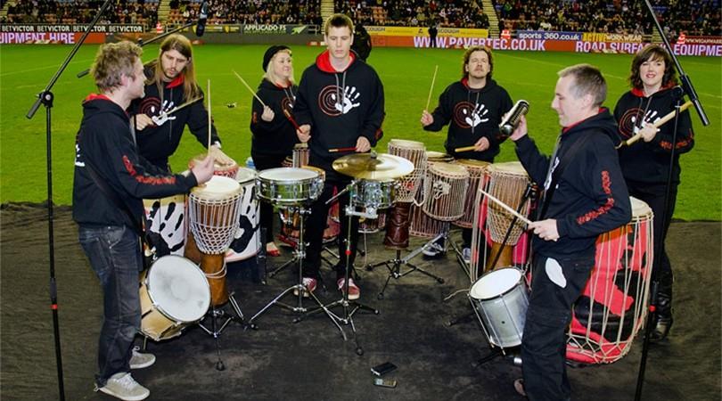 3 Sticks Drummers