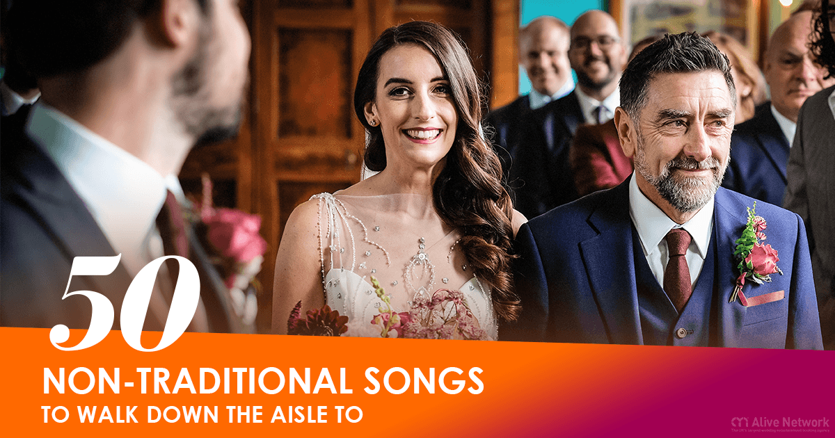 Non-Traditional Songs To Walk Down The Aisle To
