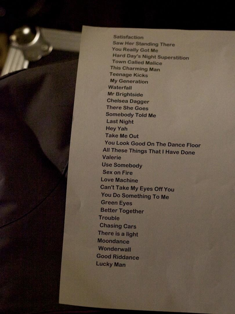Hipster perfect wedding setlist