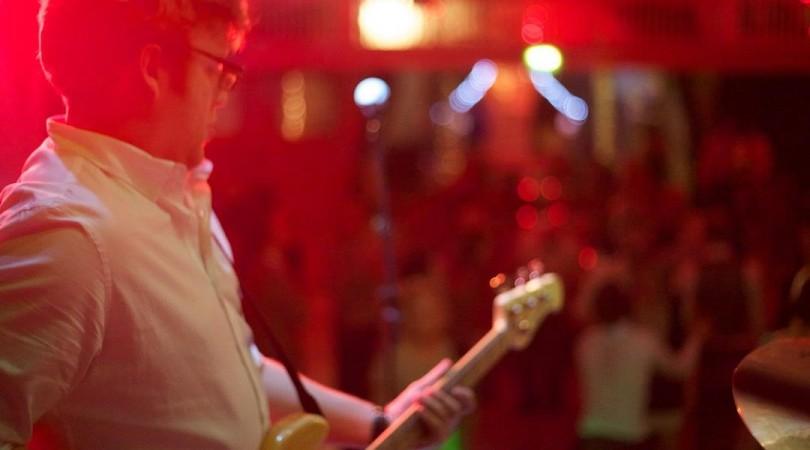 Hipster - Elliot on bass
