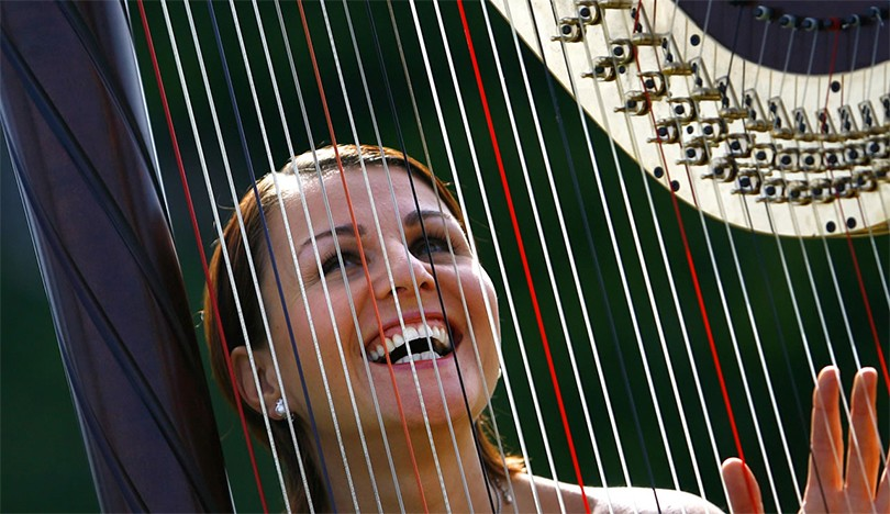 Harpist Classical Musicians Booking Guide