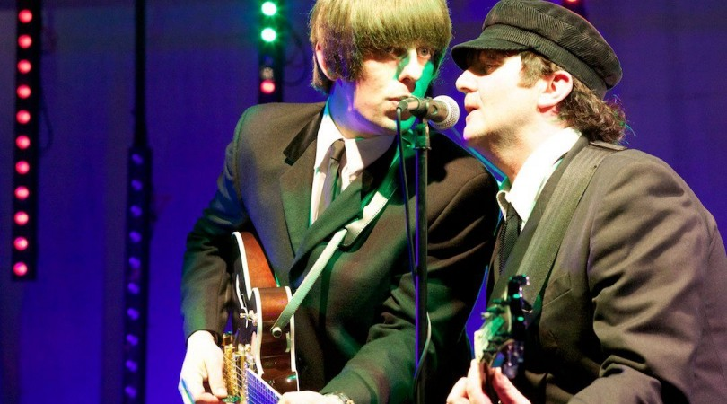 John & Paul from With The Beatles at Spalding Midsummer Ball