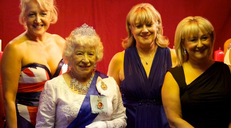 The Queen & Guests at Spalding Midsummer Ball