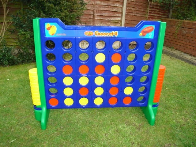 Giant games for Summer Garden Party's