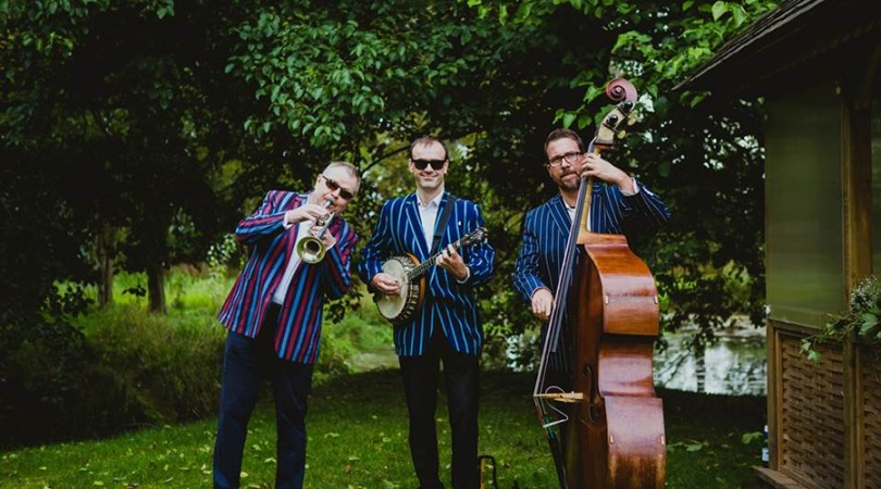 Dixieland Jazz band for a Summer Garden Party