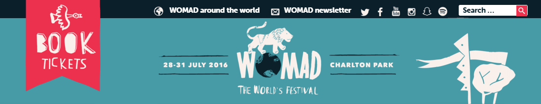 Womad Festival 2016
