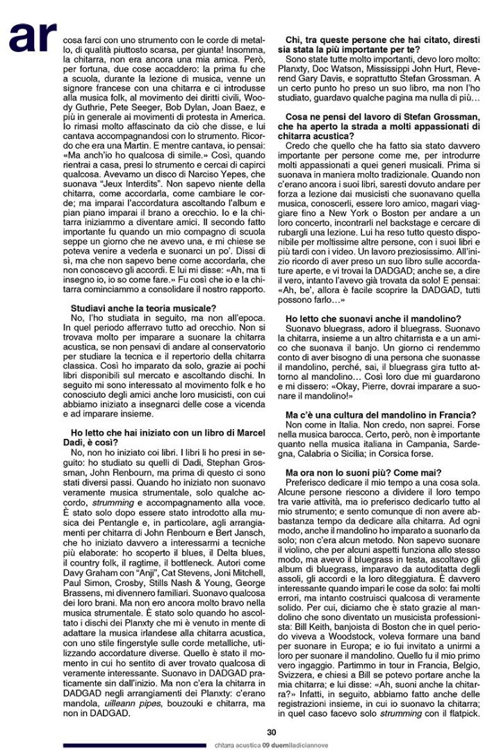 Pierre Bensusan - Chitarra Acustica 3