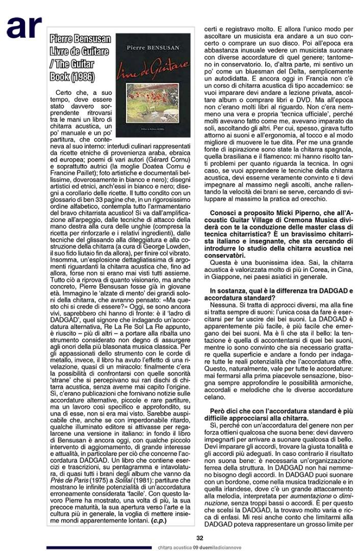 Pierre Bensusan - Chitarra Acustica 5