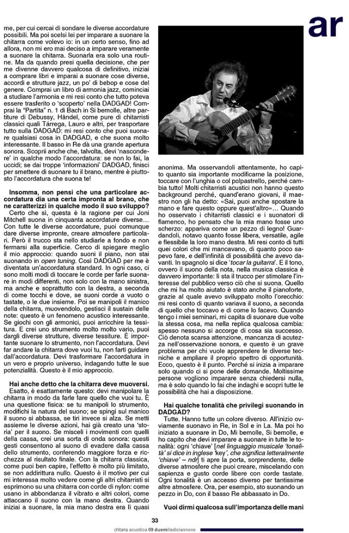 Pierre Bensusan - Chitarra Acustica 6