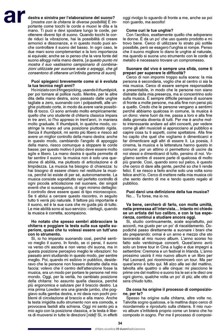 Pierre Bensusan - Chitarra Acustica 7