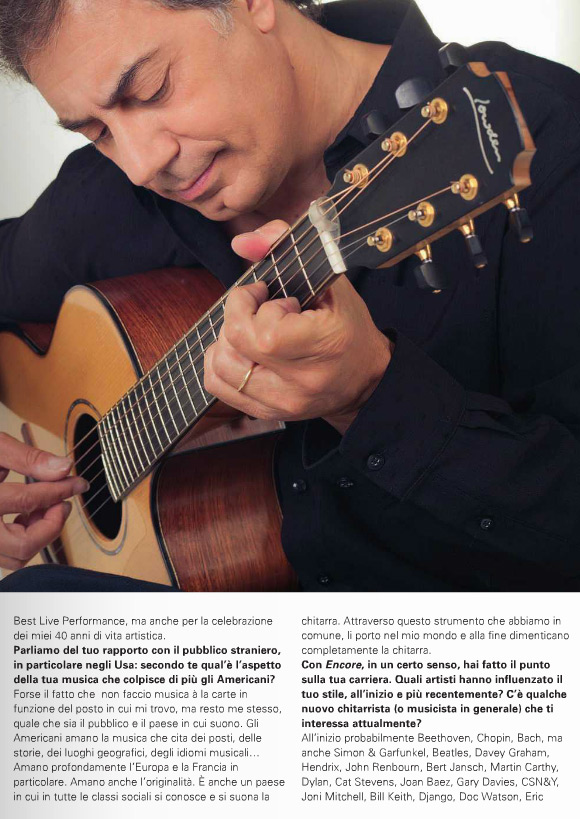 Pierre Bensusan - Chitarre Magazine Feature - Pg3