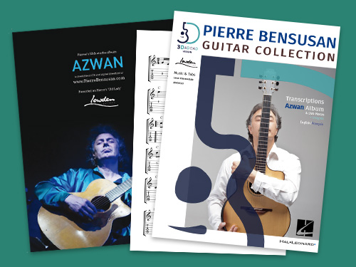 Guitar Collection - Azwan Sheet Music Book