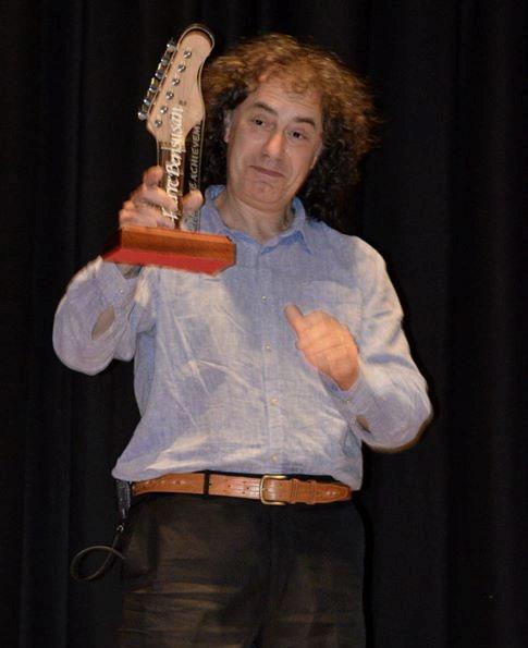 Pierre Bensusan Ards Lifetime Achievement Award 2014